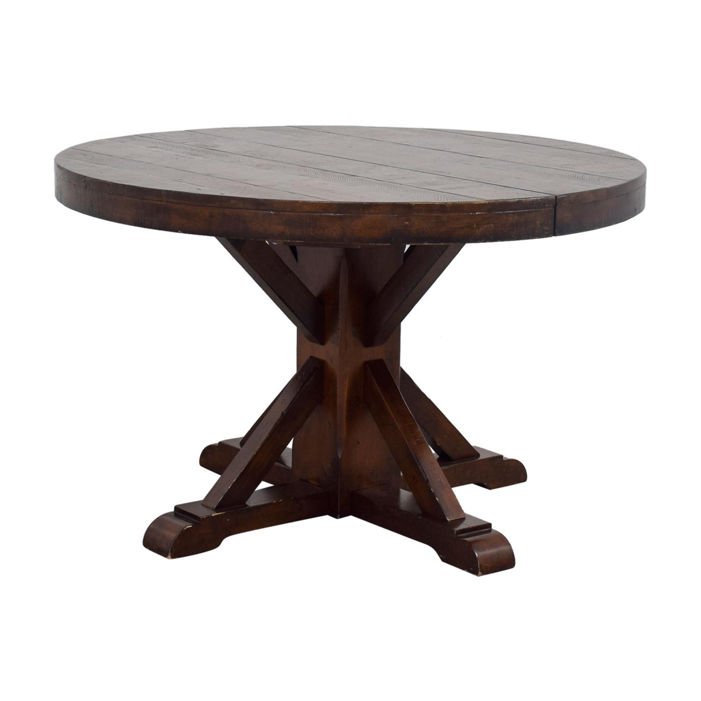 54 off pottery barn pottery barn benchwright extending. Black Bedroom Furniture Sets. Home Design Ideas