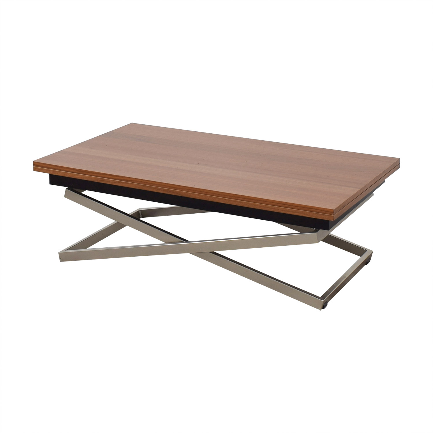 shop Bo Concept Bo Concept Rubi Adjustable Table from Coffee to Dining online