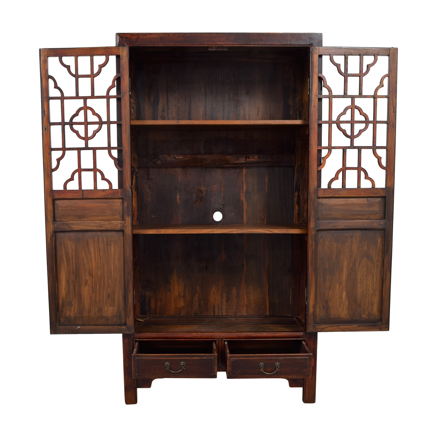 buy Antique Chinese Carved Wood Armoire