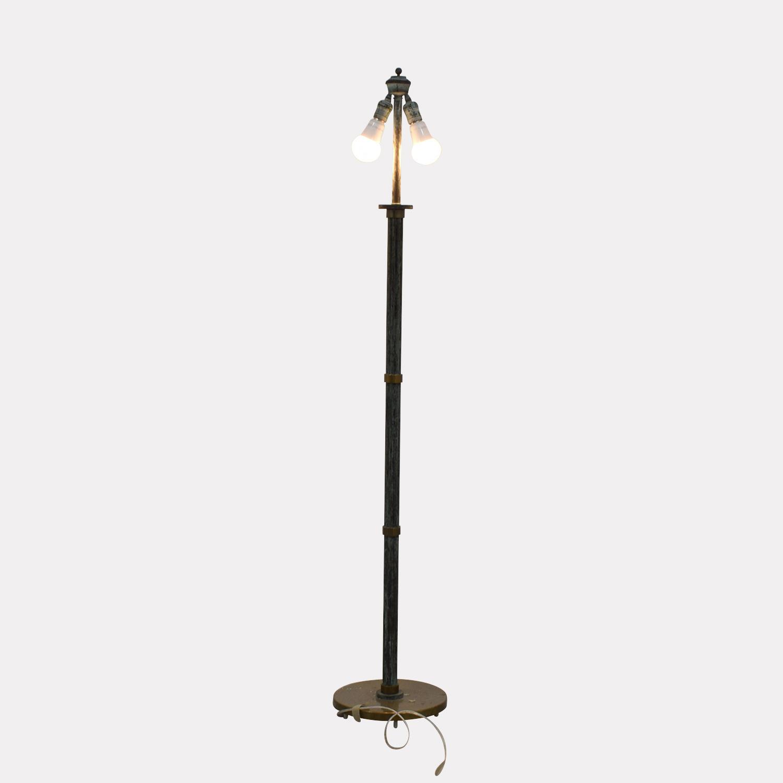 Copper Floor Lamp GREEN