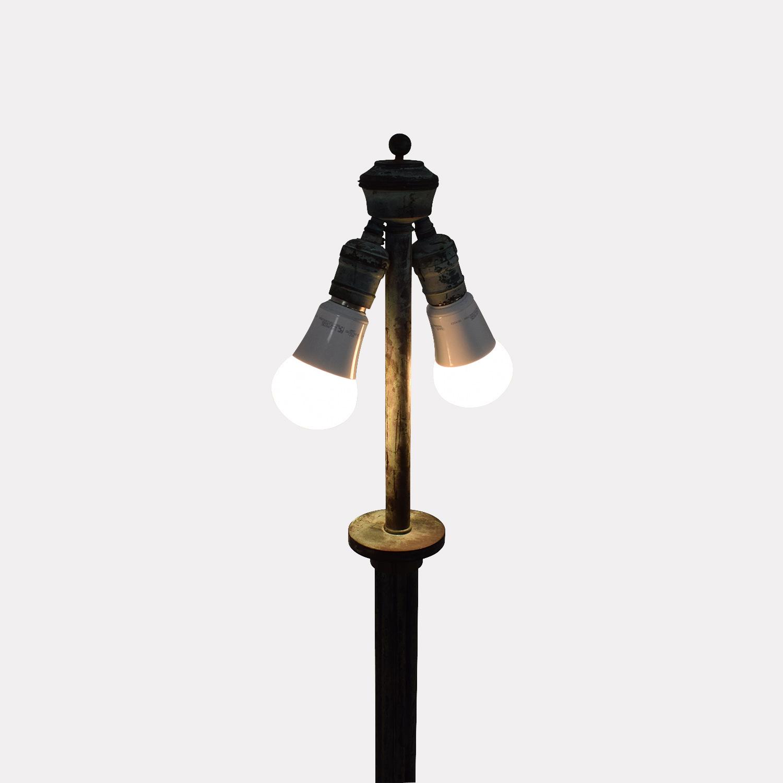 Copper Floor Lamp second hand