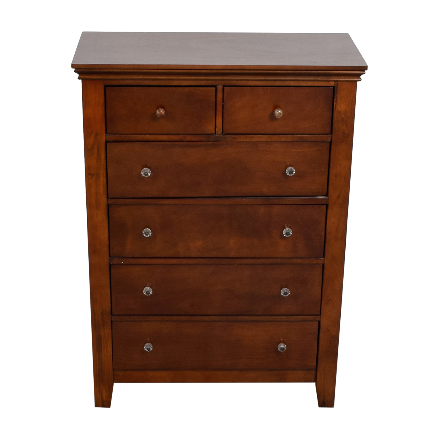 buy  Wood Six-Drawer Dresser online