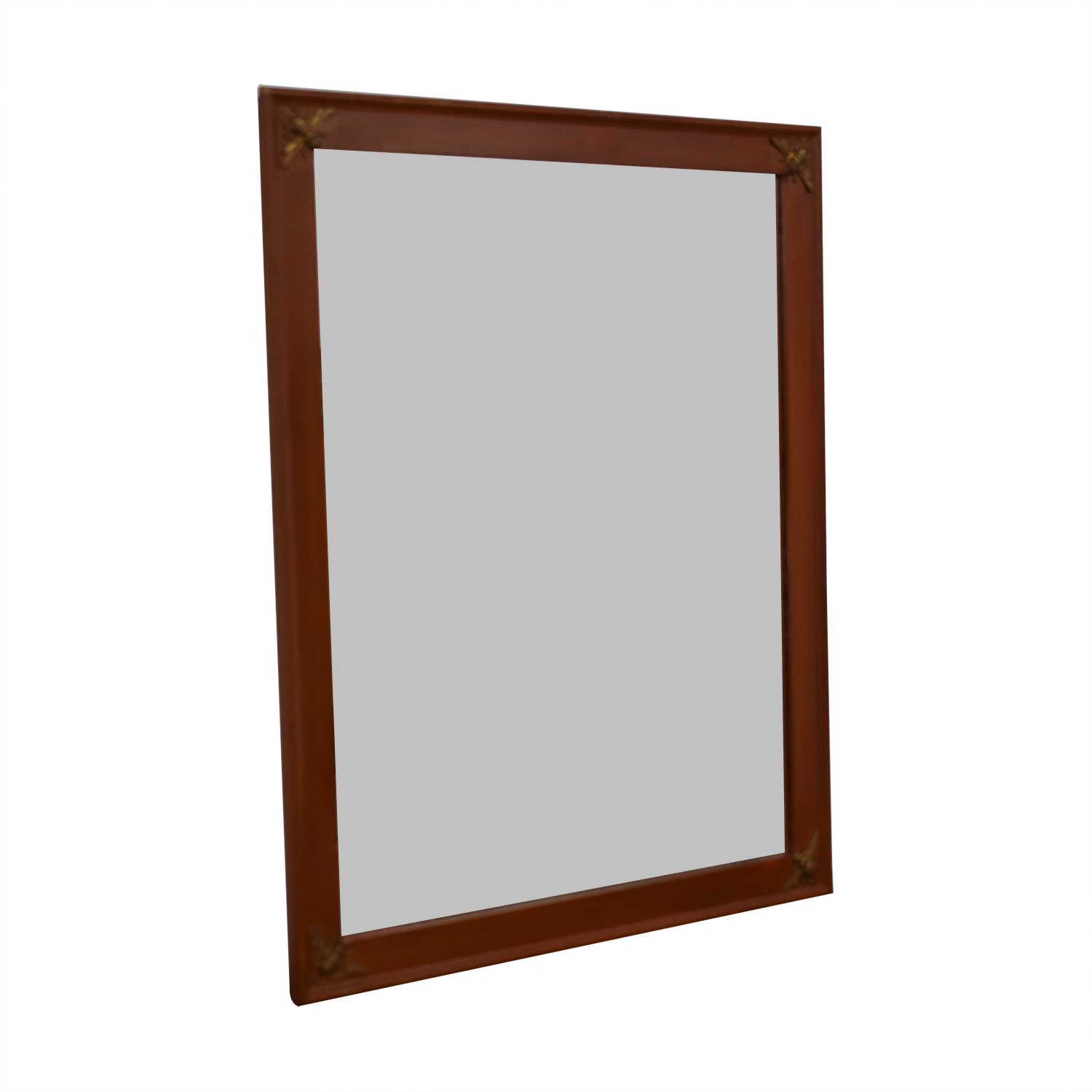 shop Bee Wood Framed Mirror  Mirrors