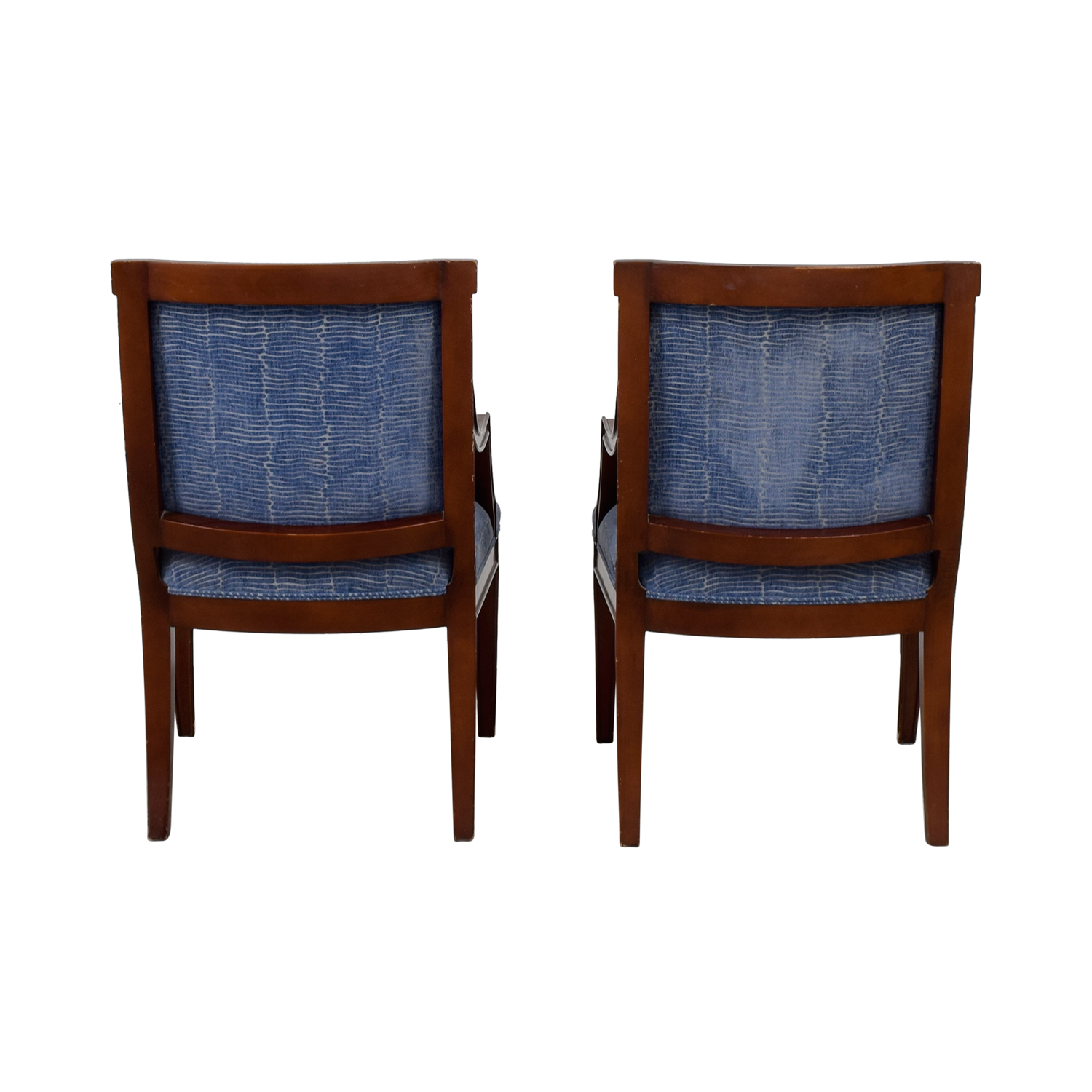 Blue & White Arm Chairs sale