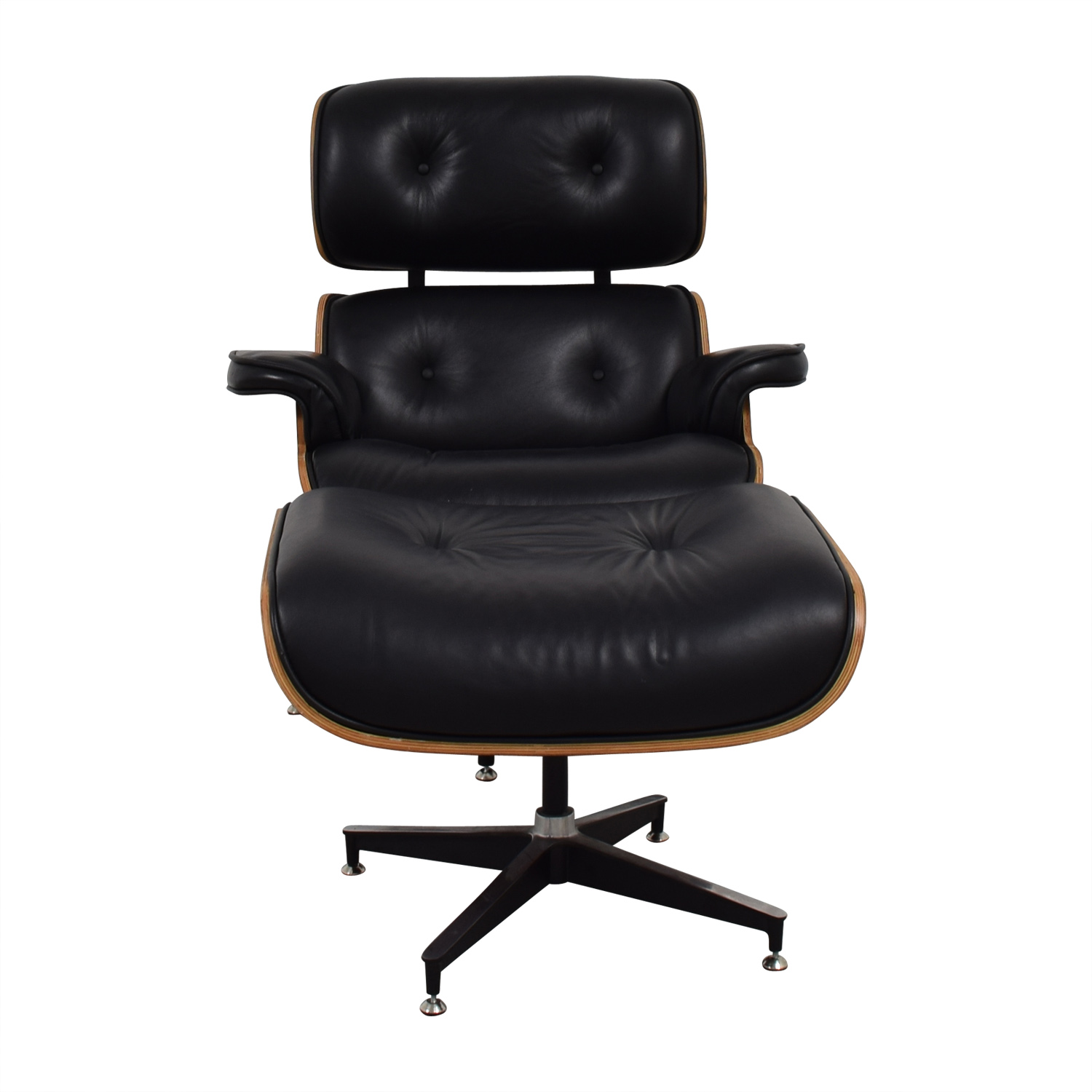 Shop Manhattan Home Design Eames Replica Chair And Ottoman Manhattan Home  Design Accent Chairs ...