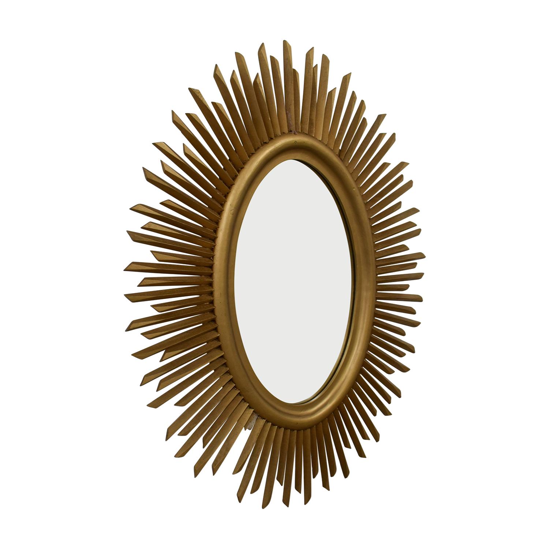 Pottery Barn Sunburst Mirror sale