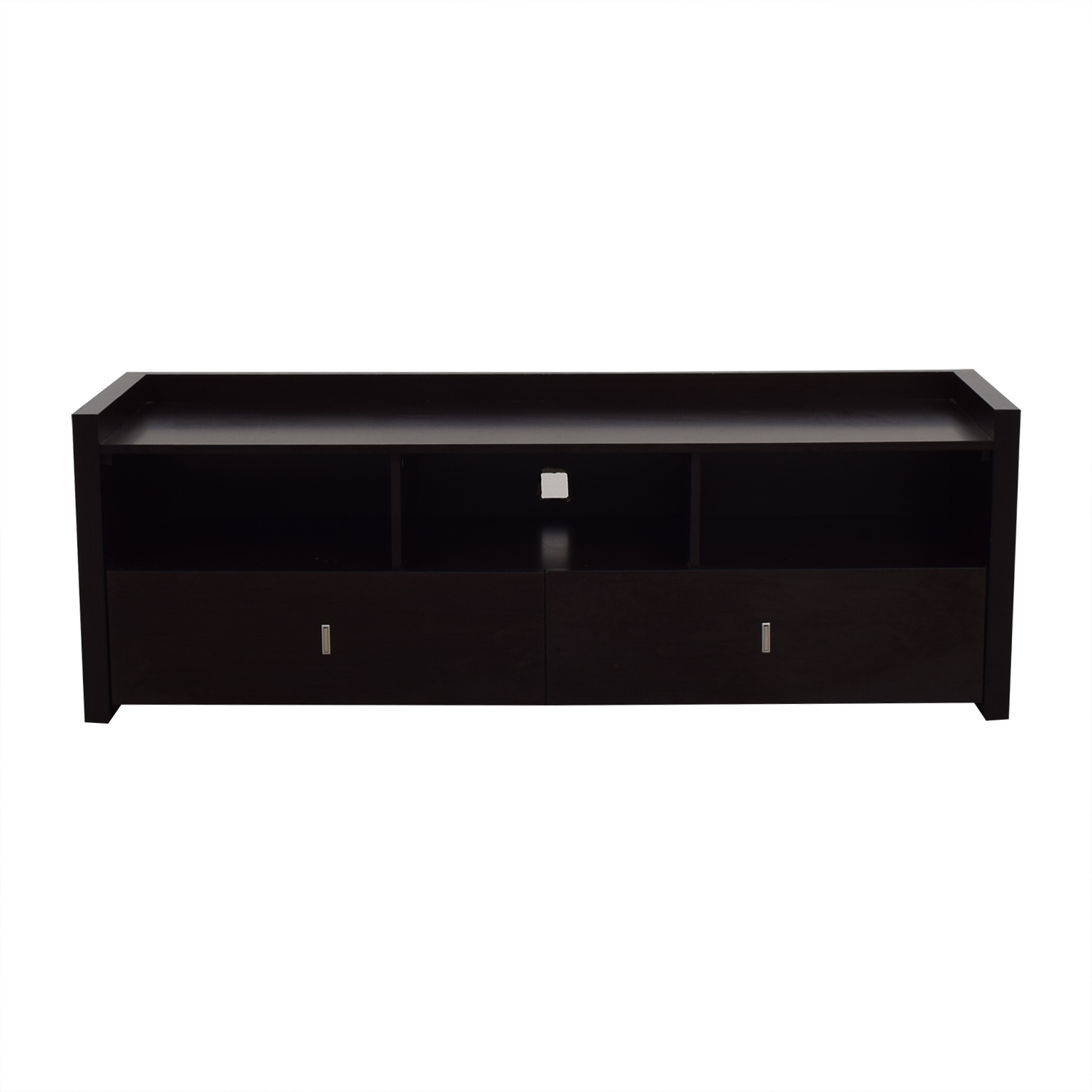 buy  Two-Drawer Wood Media Stand online