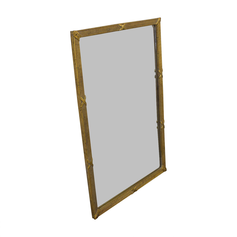 Vintage Gold Framed Mirror / Decor
