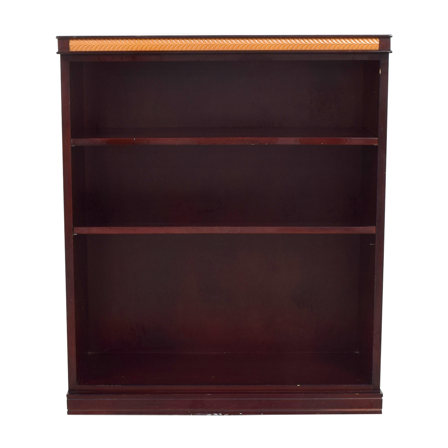 Classic Mahogany Bookshelf Red Cherry