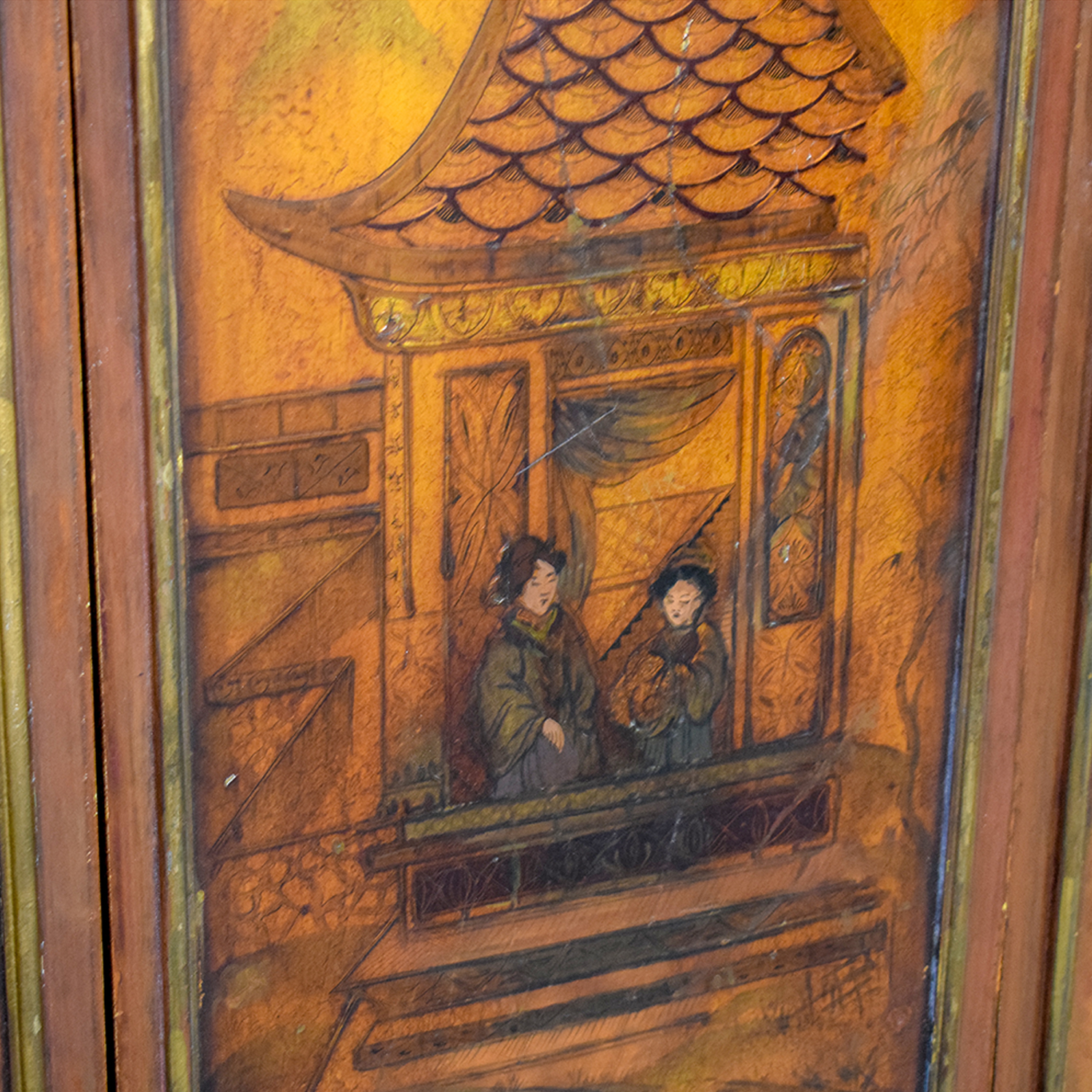 buy  Vintage Chinese Paneled Wall Hanging online