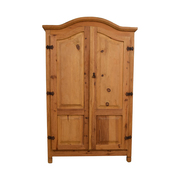 Million Dollar Rustic Million Dollar Rustic Natural Wood Armoire for sale