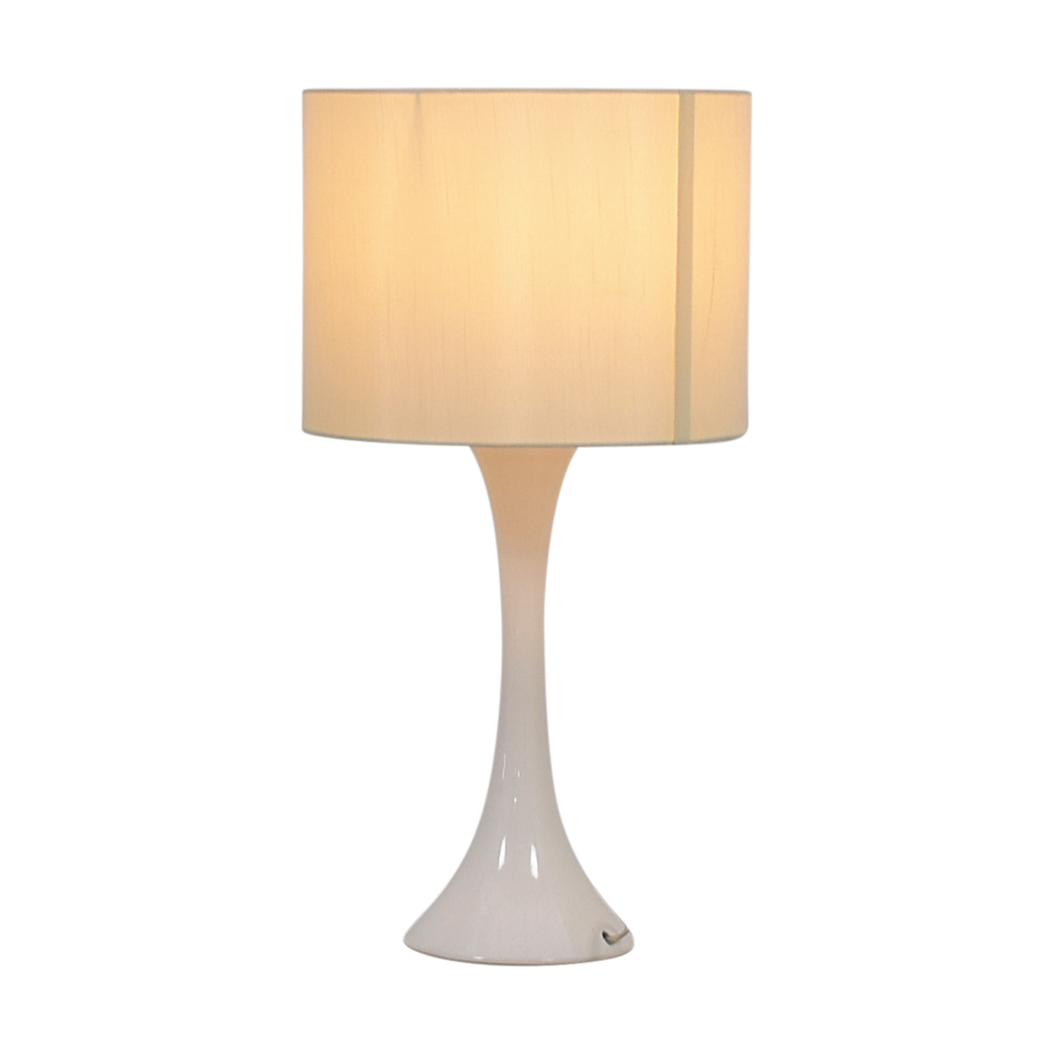 CB2 CB2 Ada White Table Lamp second hand