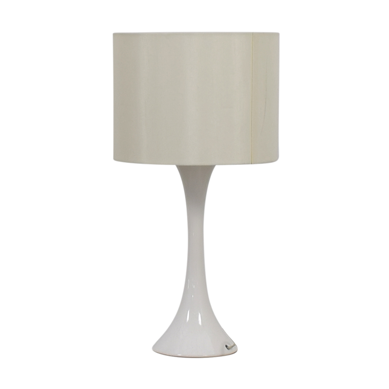 CB2 Ada White Table Lamp / Lamps