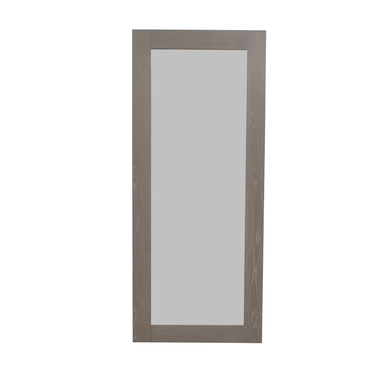 CB2 CB2 Grey Hanging/Leaning Floor Mirror Mirrors