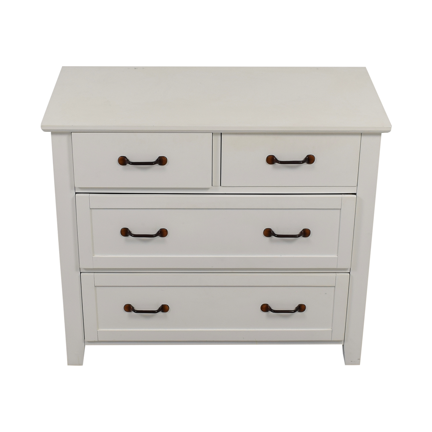 Pottery Barn Pottery Barn Stratton White Four-Drawer Dresser price