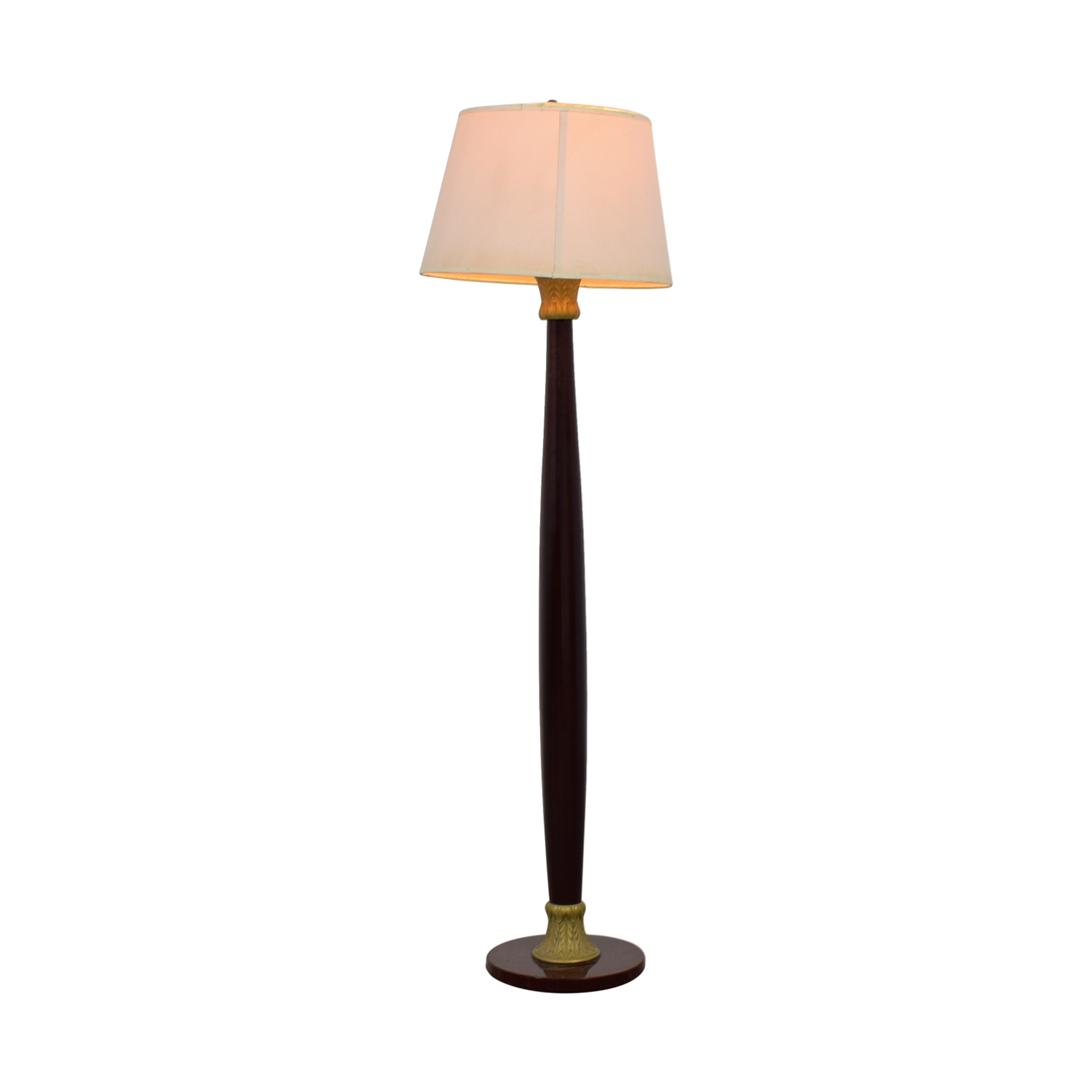 Wood Floor Lamp discount