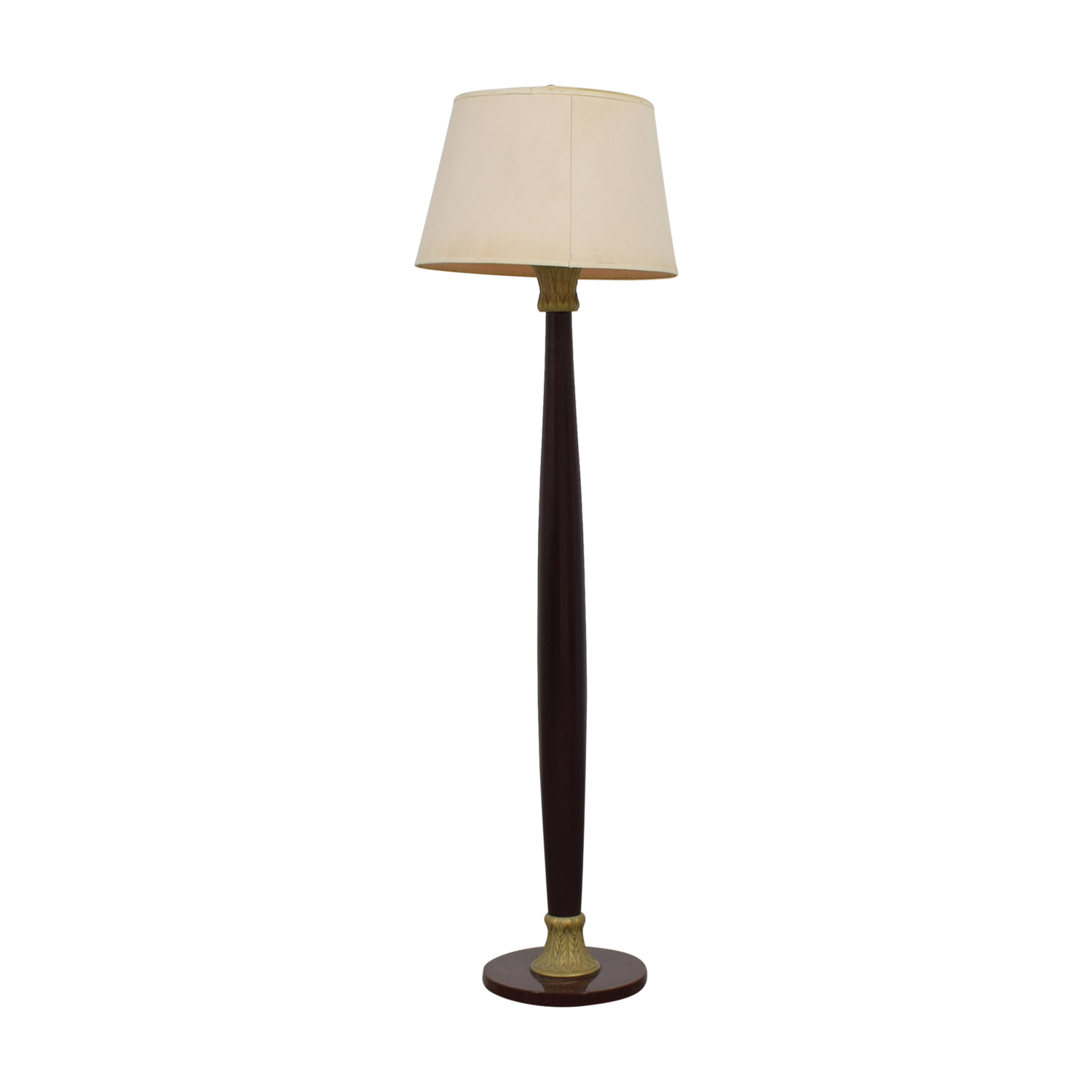 Wood Floor Lamp / Decor