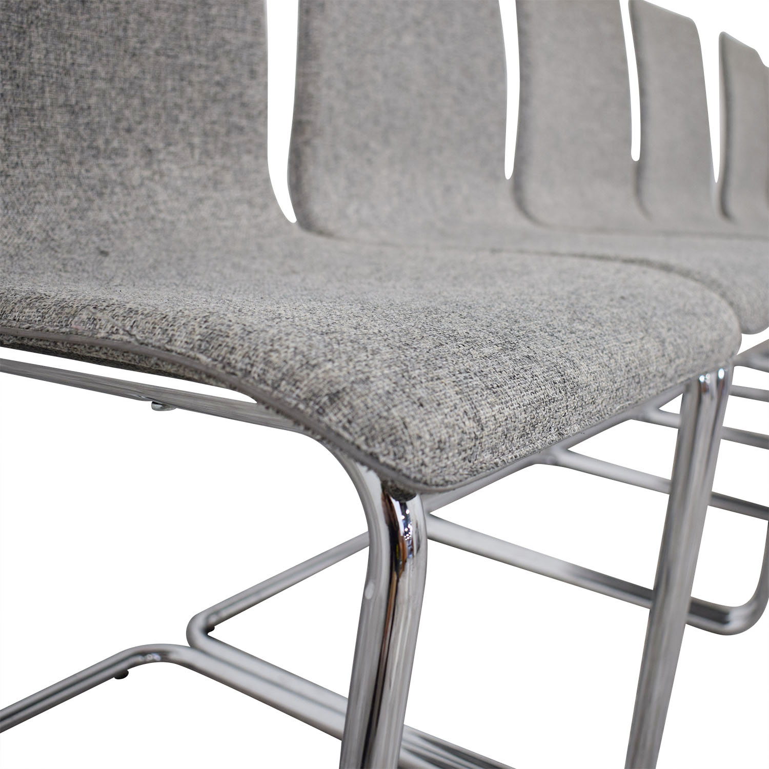 Charmant Shop CB2 Pony Grey Tweed Chairs CB2