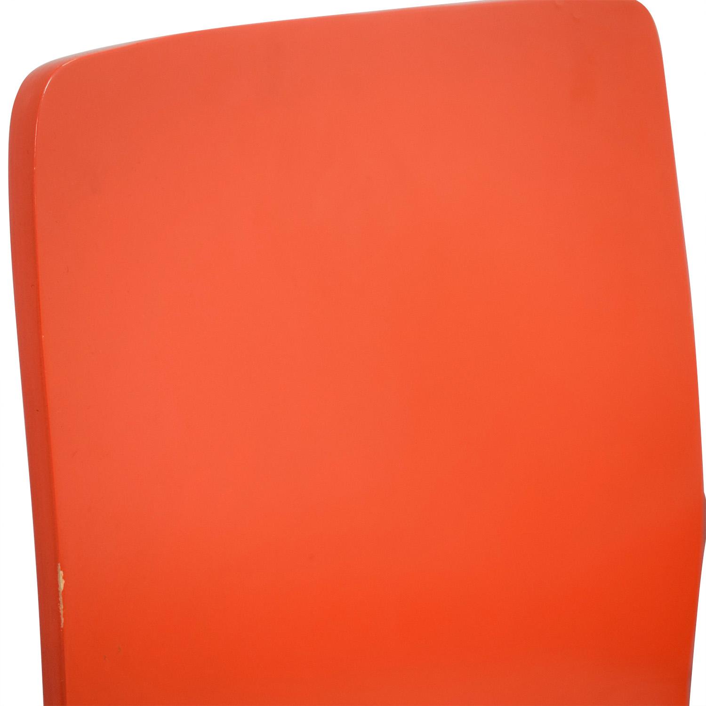 CB2 CB2 Echo Orange Dining Chairs coupon