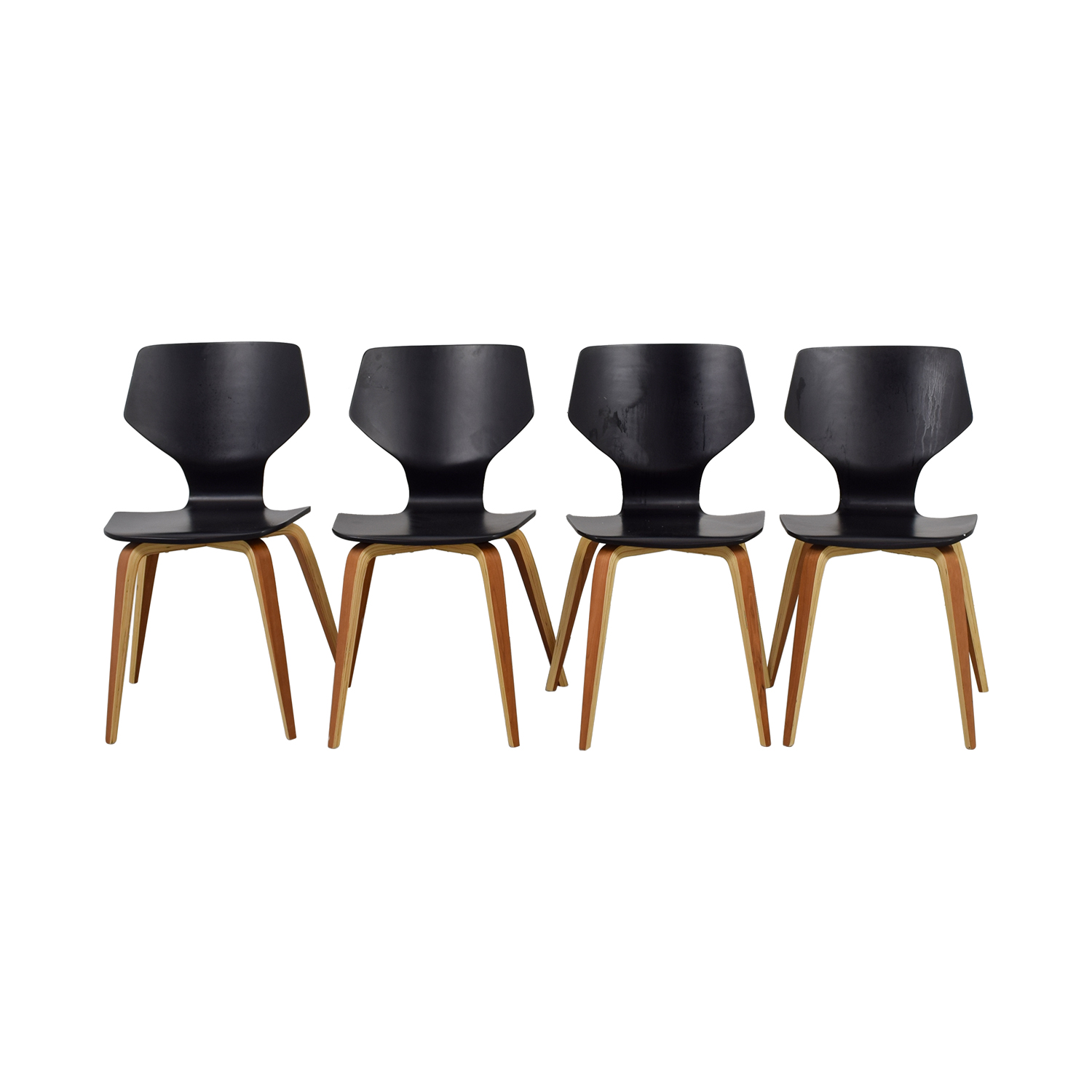 Room & Board Room & Board Pike Side Chairs with Wood Base coupon