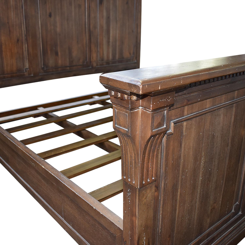 Restoration Hardware Restoration Hardware St. James King Wood Bed Frame Beds
