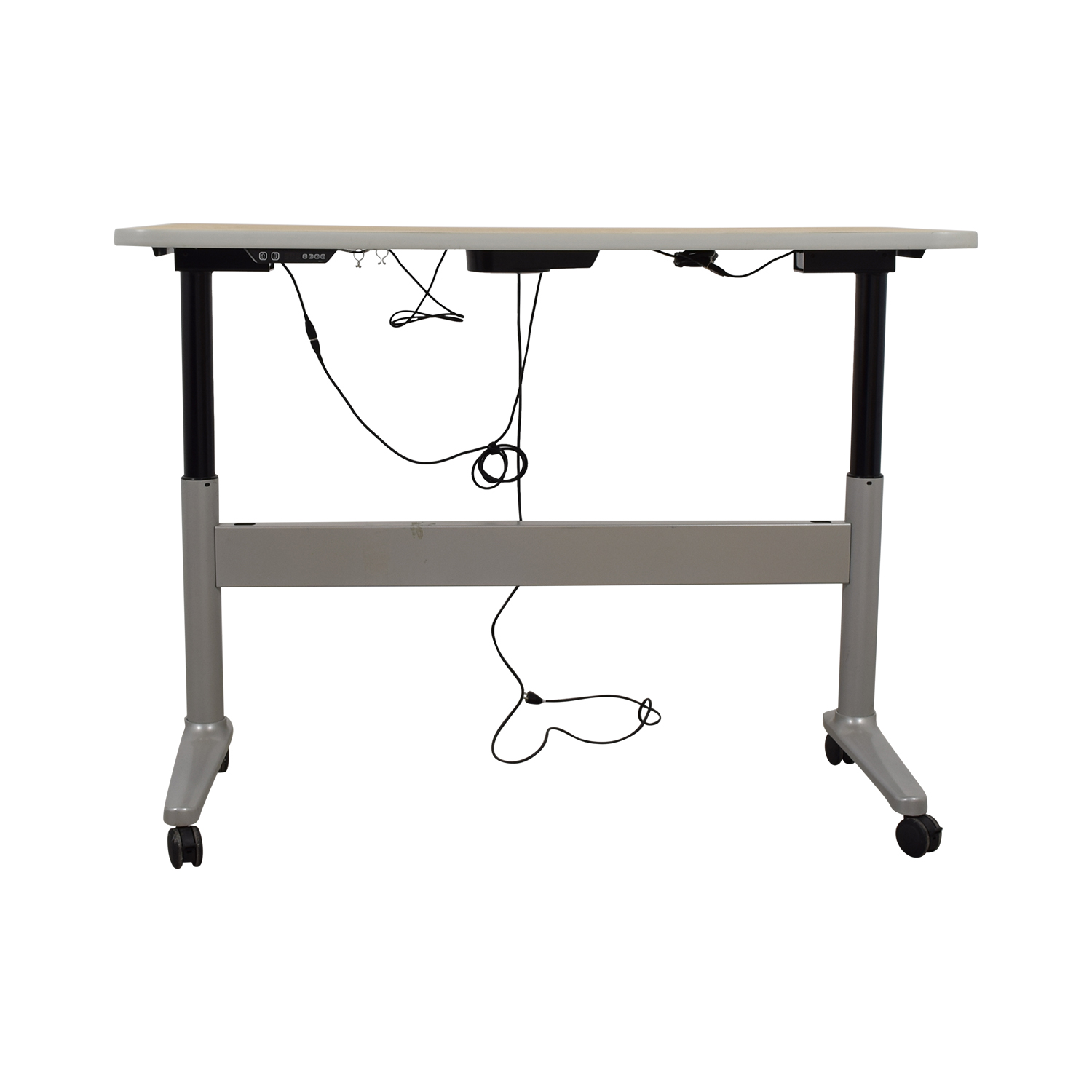UpDesk UpDesk Electronically Controlled Standing Desk on Castors nyc