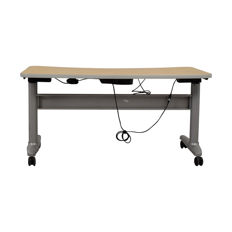 UpDesk UpDesk Electronically Controlled Standing Desk on Castors nj