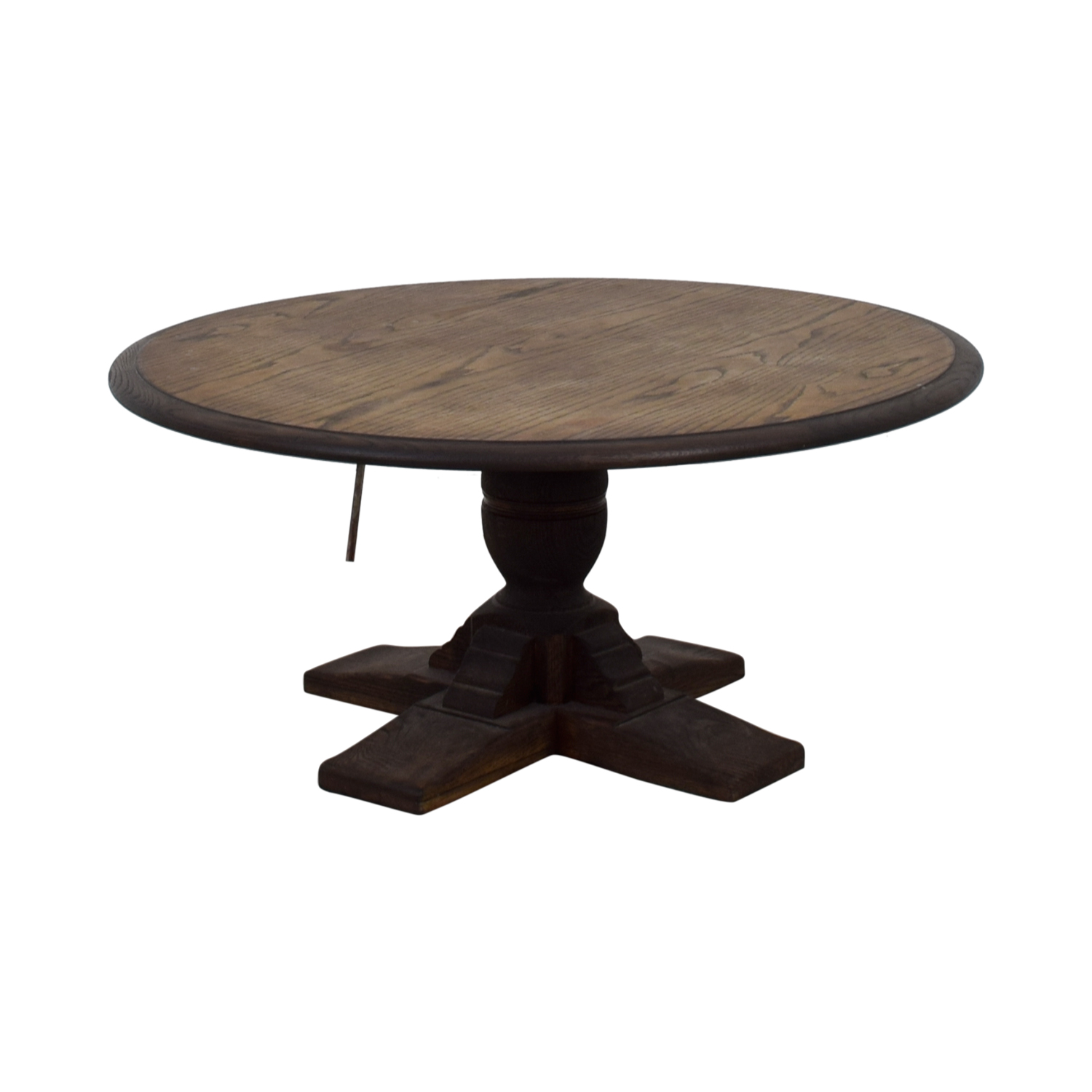 Antique Coffee Table Brown, Dark Brown