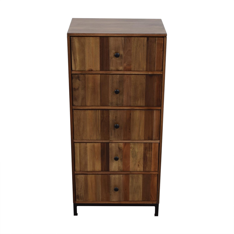 buy Target Five-Drawer Wooden Dresser Target Storage