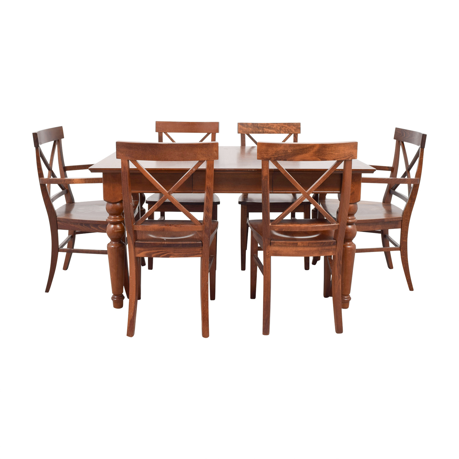 shop Pottery Barn Wood Dining Set Pottery Barn Tables