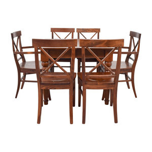 Pottery Barn Pottery Barn Wood Dining Set coupon