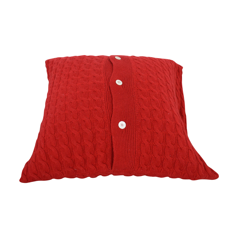 Red Toss Pillow price