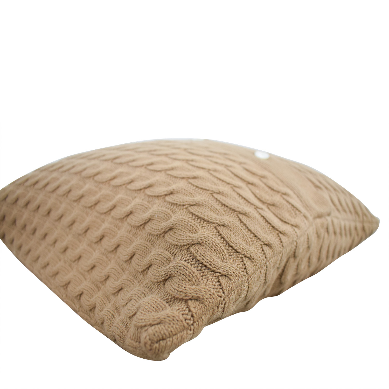 Tan Toss Pillow / Decor