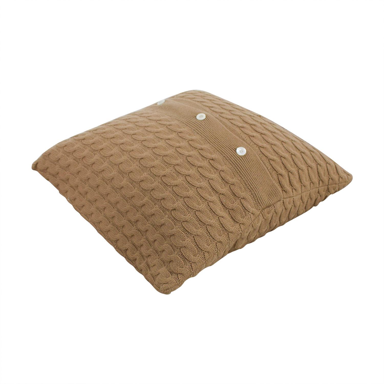 Tan Toss Pillow