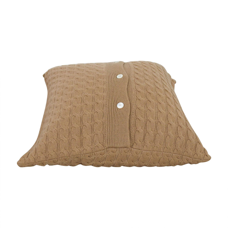 buy Tan Toss Pillow