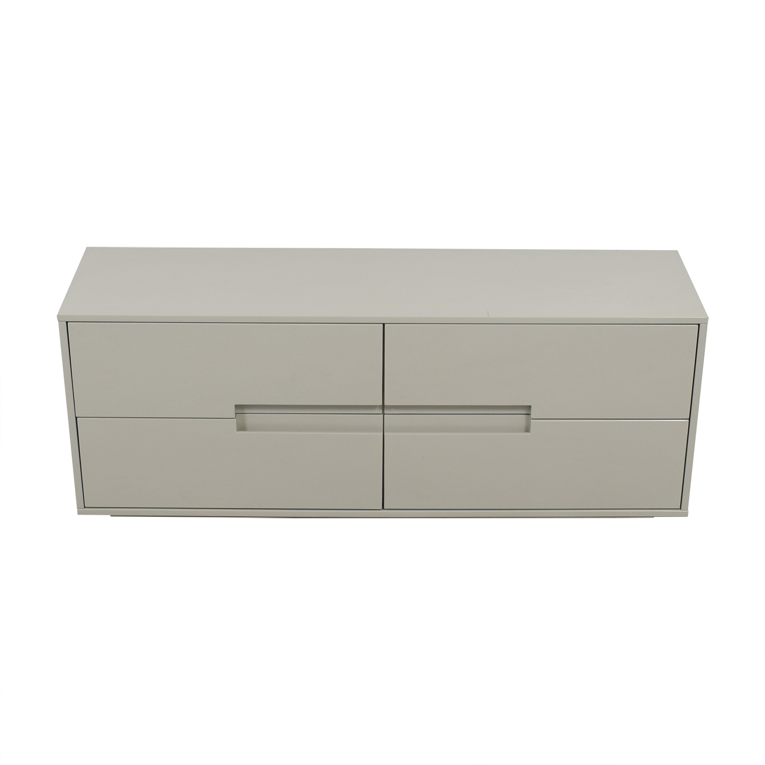 Grey Four-Drawer Cabinet sale