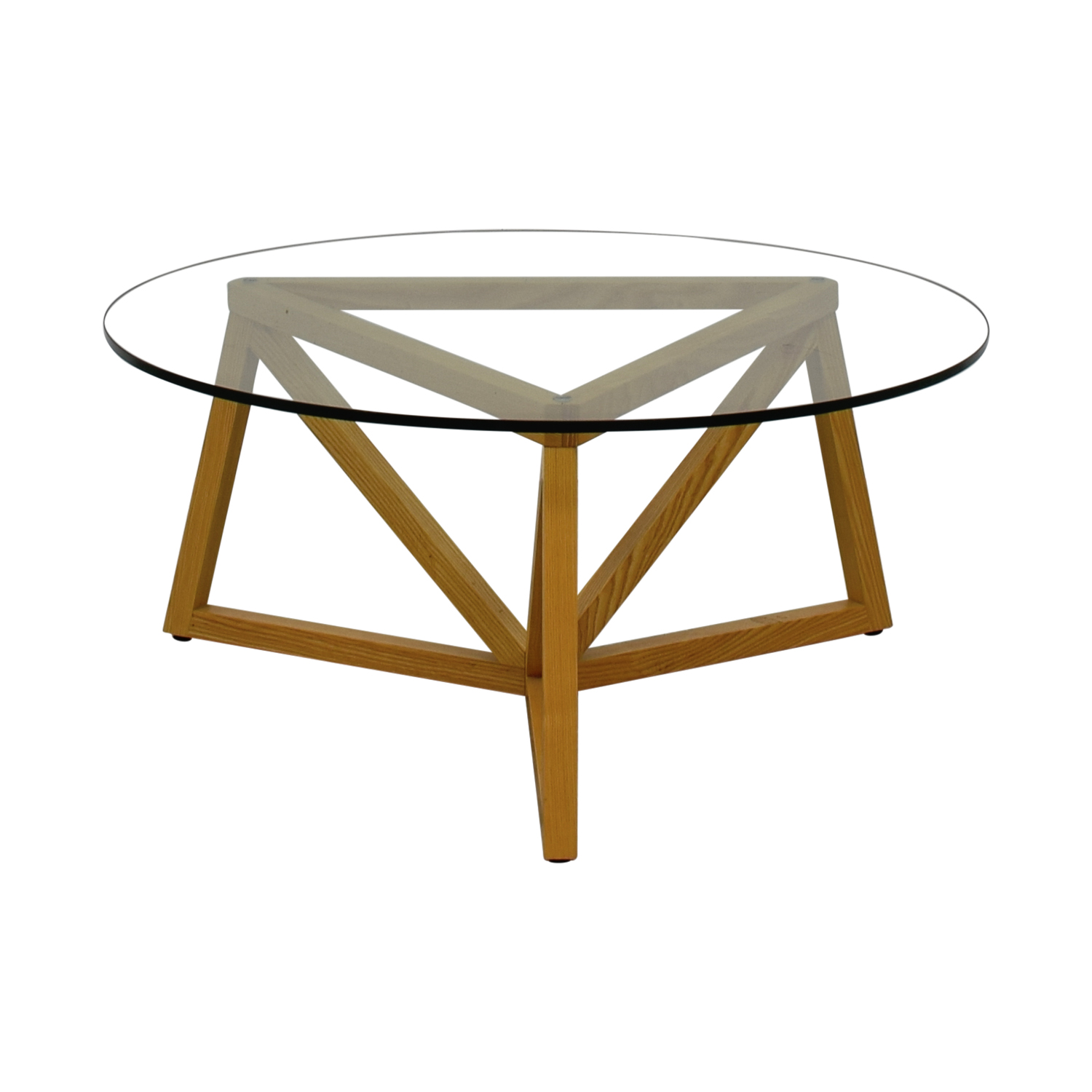 buy Round Glass Center Table  Tables