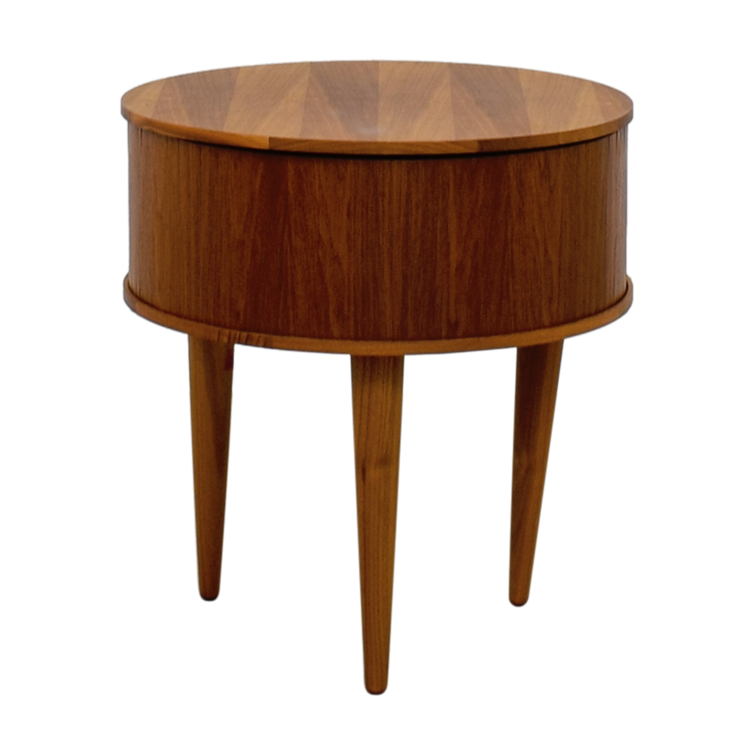 shop Round Wood Corner Table