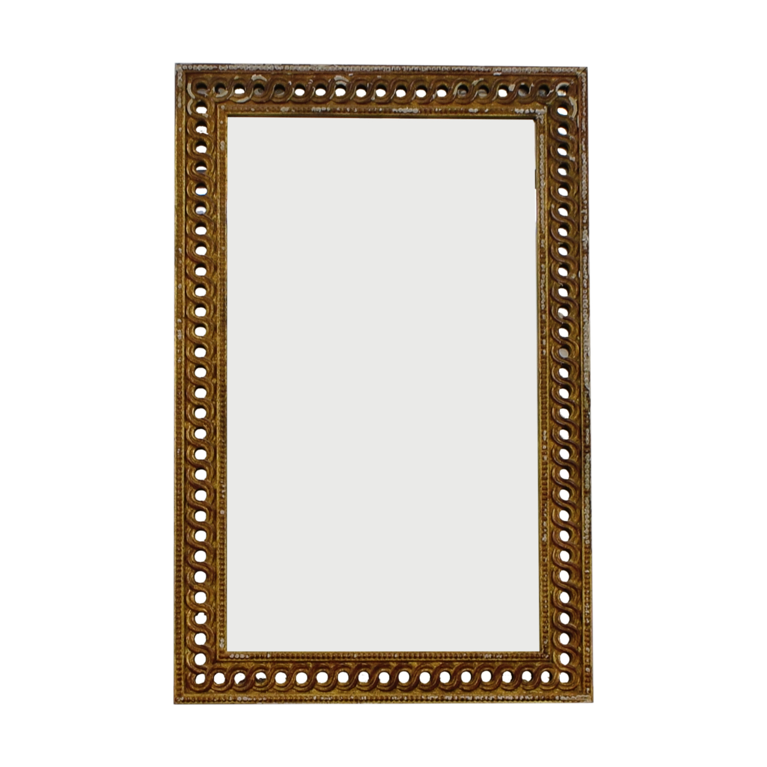 Gold Framed Mirror on sale