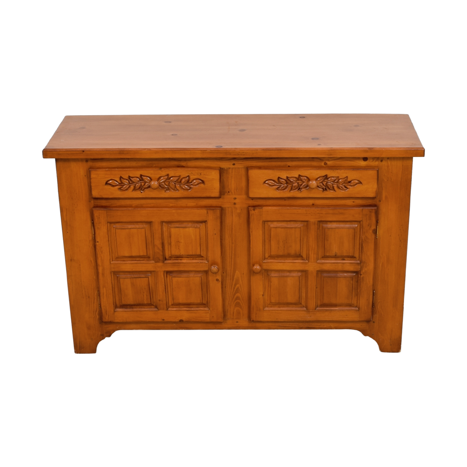 Antique Two-Drawer Credenza / Cabinets & Sideboards