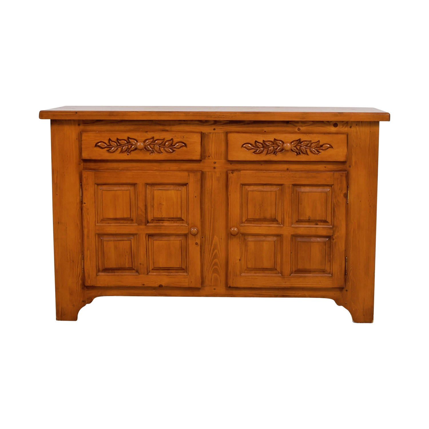 Antique Two-Drawer Credenza