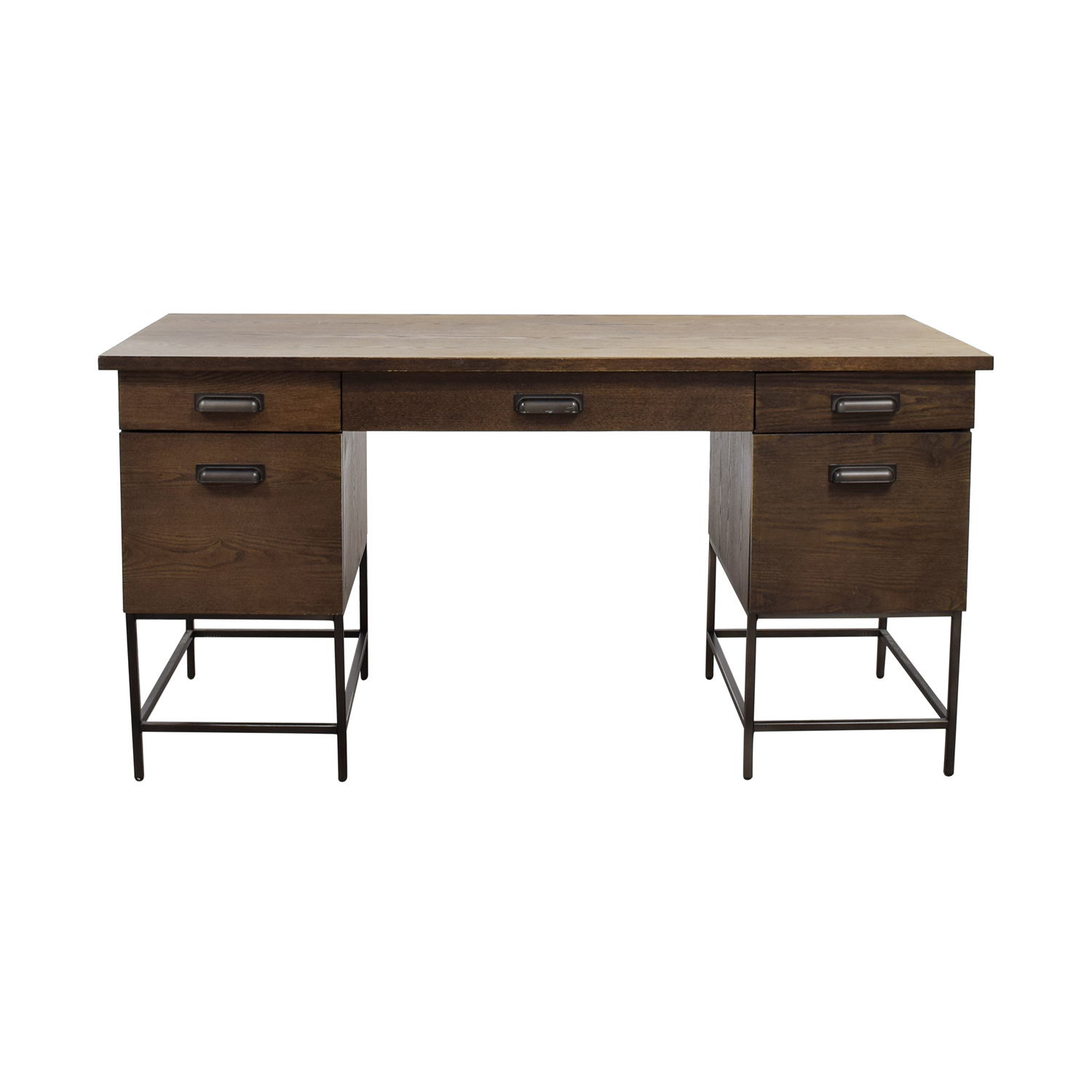 shop West Elm Rustic Wood Desk West Elm Sofas