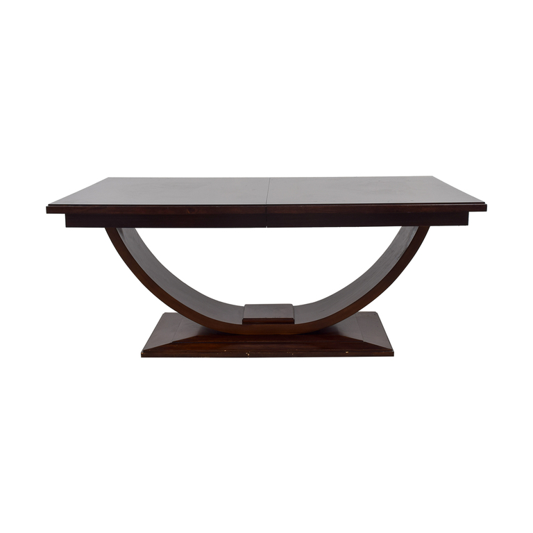 Z Gallerie Z Gallerie Arched Base Dining Table second hand