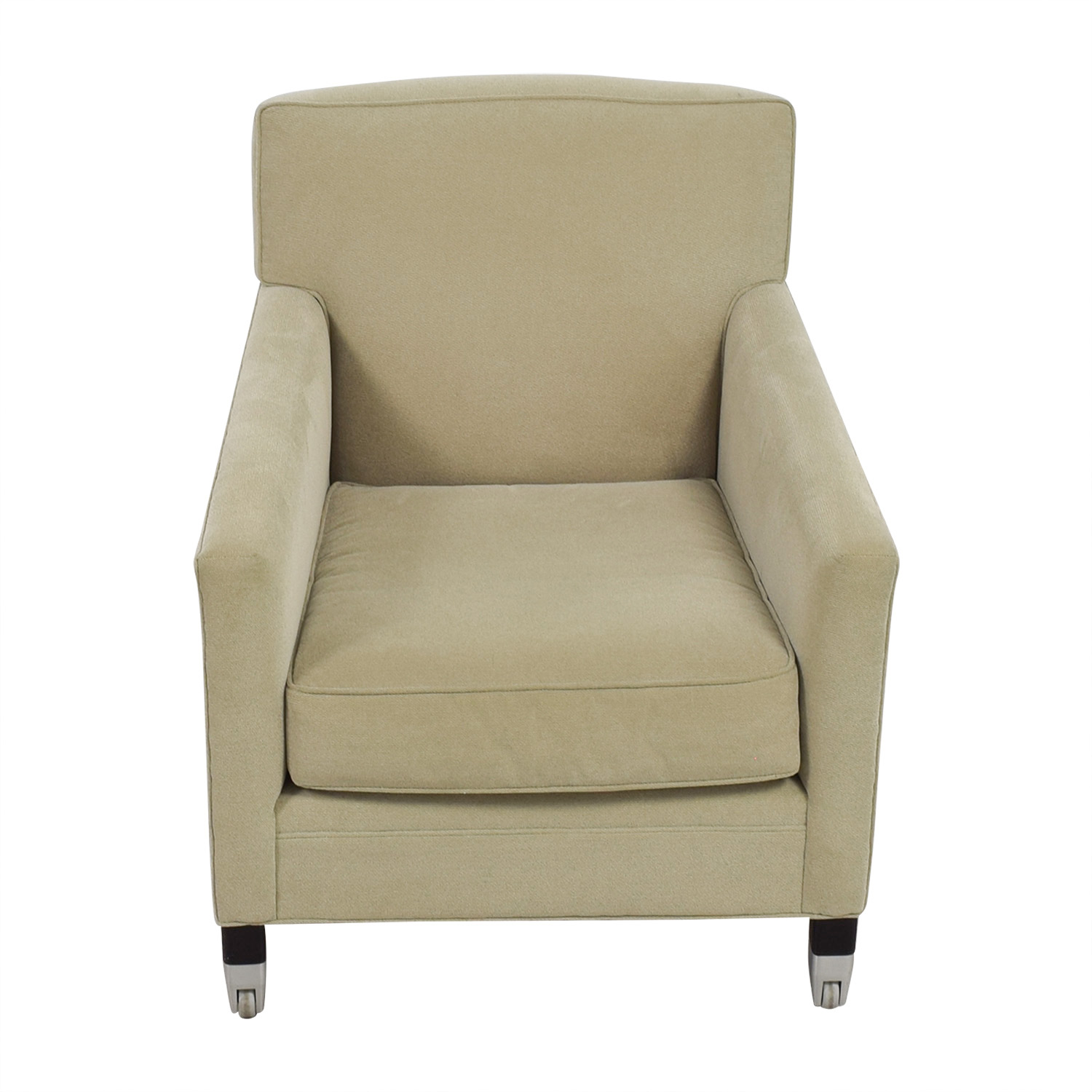 Mitchell Gold + Bob Williams Light Green Accent Chair sale
