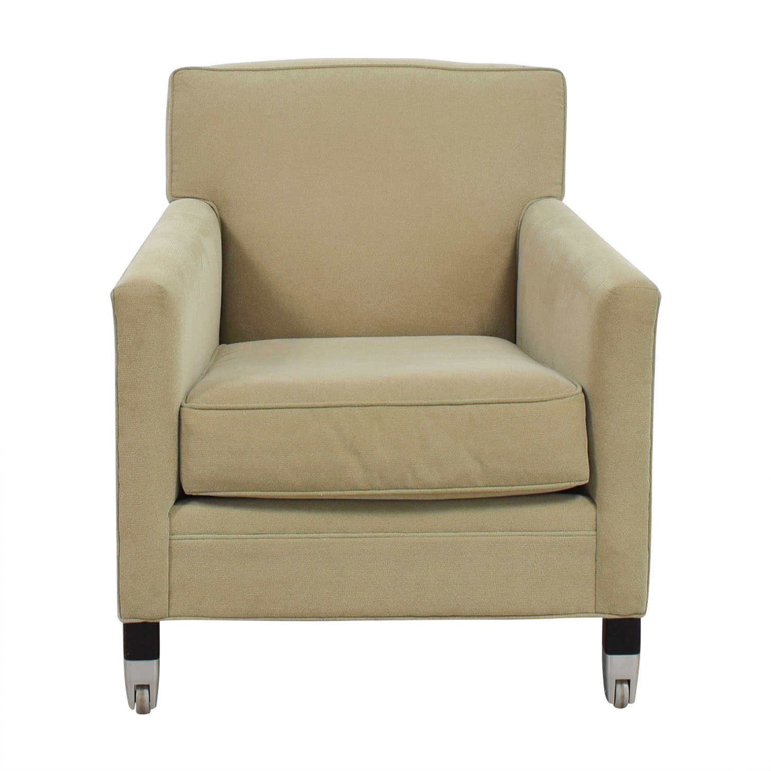 Mitchell Gold + Bob Williams Light Green Accent Chair Mitchell Gold + Bob Williams