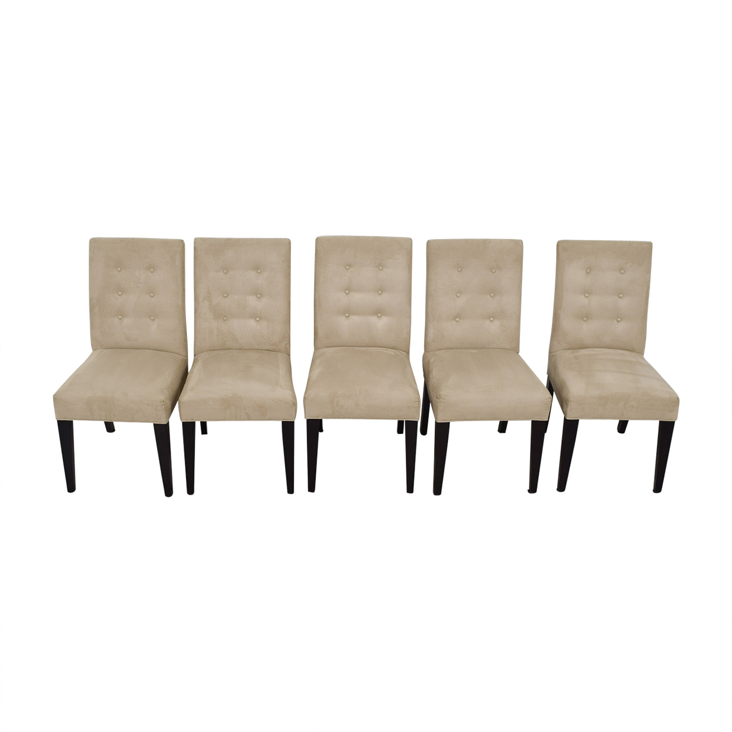 Mitchell Gold + Bob Williams Mitchell Gold + Bob Williams Grey Tufted Chairs discount