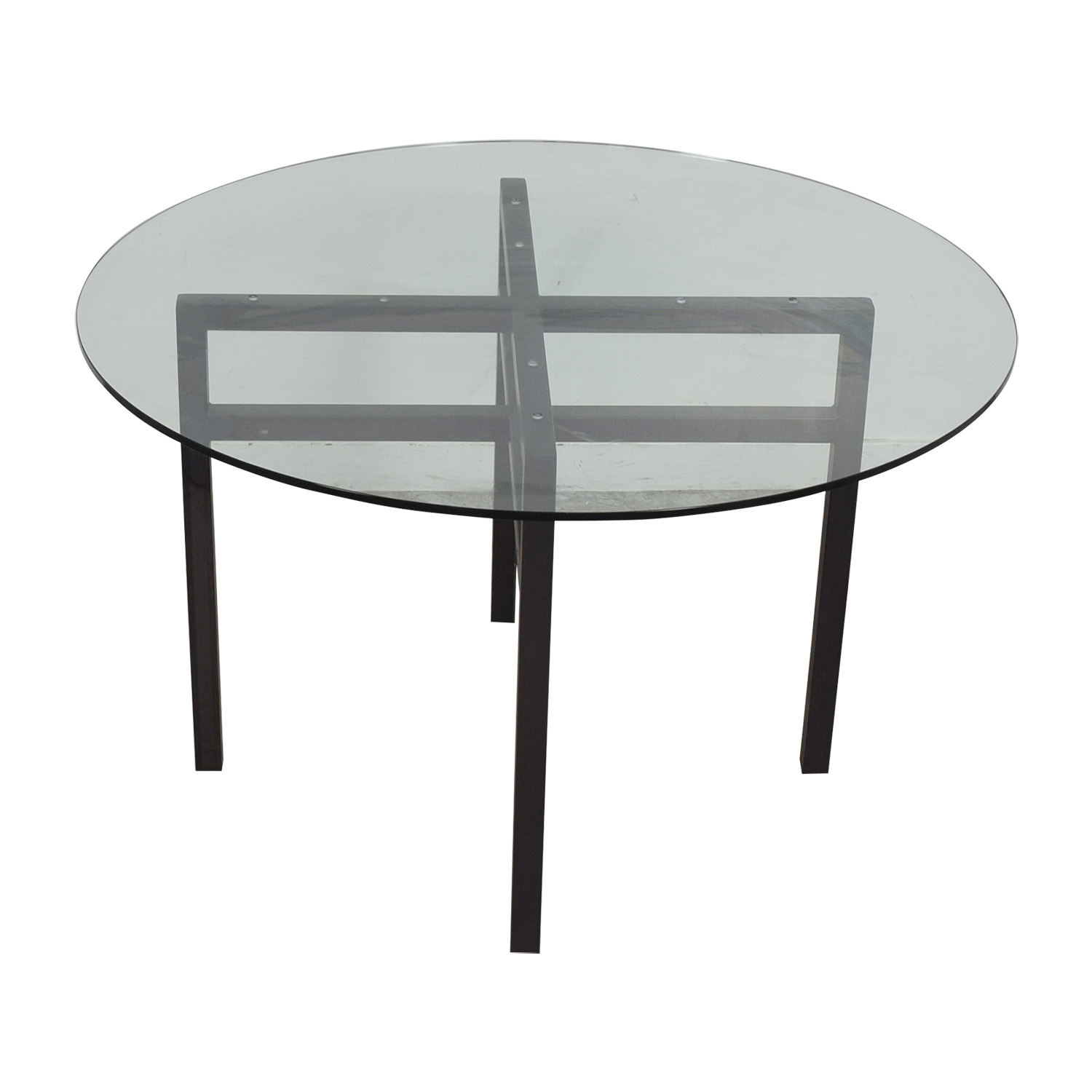 Round Glass Table Tables
