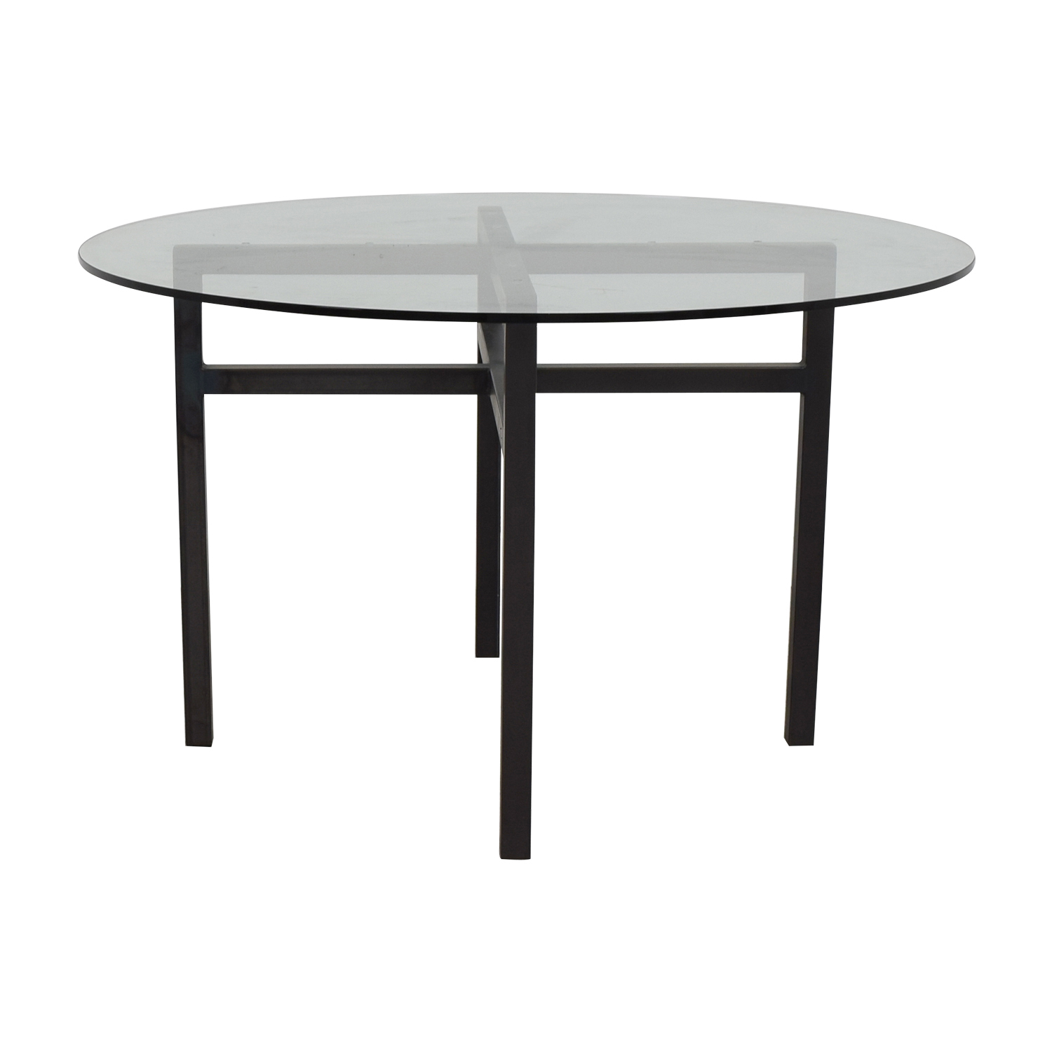 Round Glass Table discount