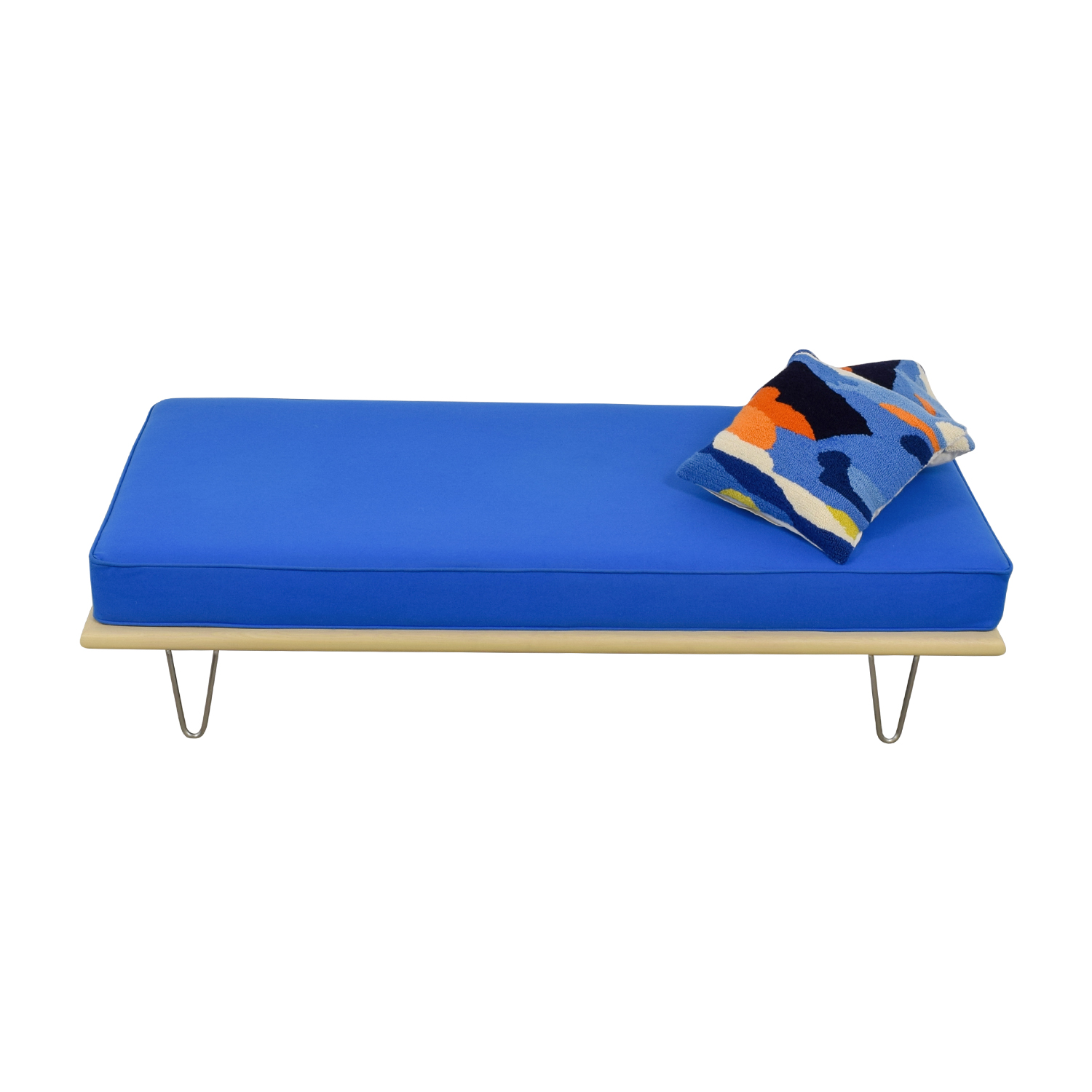 Design Within Reach Design Within Reach George Nelson Berry Blue Daybed Chaises