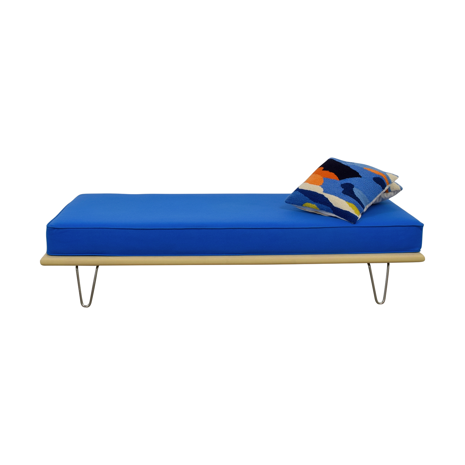 Design Within Reach Design Within Reach George Nelson Berry Blue Daybed blue